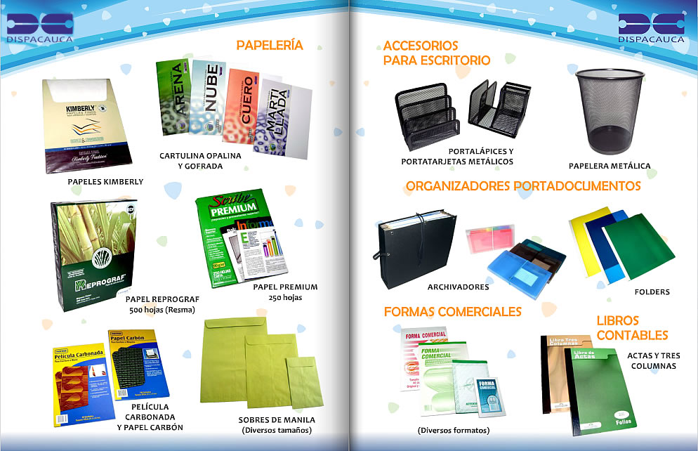 Muebles y suministros para oficina infosur el for Lista de muebles de oficina